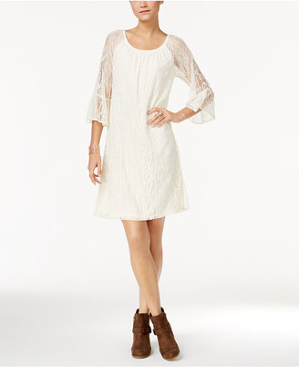 Style & Co Lace Off-The-Shoulder Dress, Only at Macy's $59.50 thestylecure.com