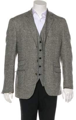 Brunello Cucinelli Herringbone Vest & Sport Coat