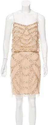 Aidan Mattox Sequined Mini Dress w/ Tags