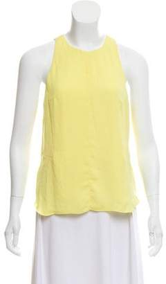 Rag & Bone Sleeveless Zip-Up Blouse