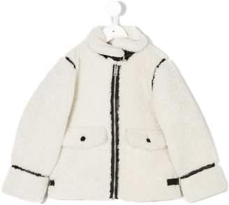 Burberry classic shearling coat