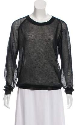 Reed Krakoff Knit Long Sleeve Sweater