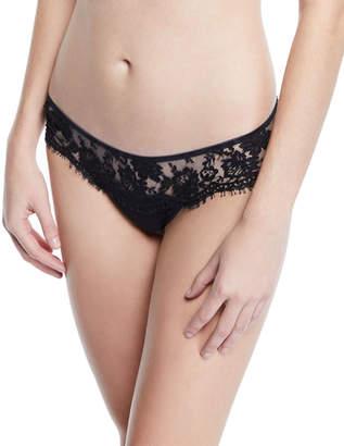 I.D. Sarrieri Fantasia Satin Lace Thong Underwear