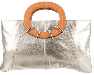 Kate SpadeKate Spade New York Metallic Leather Handle Bag