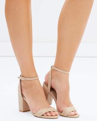 Spurr ICONIC EXCLUSIVE - Paisley Block Heels