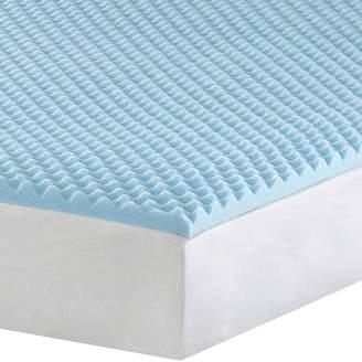 SLEEP PHILOSOPHY 1 Gel Memory Foam Mattress Topper