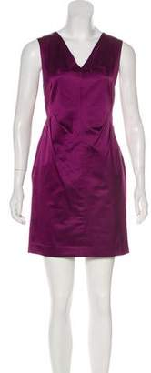 Robert Rodriguez Sleeveless Satin Dress