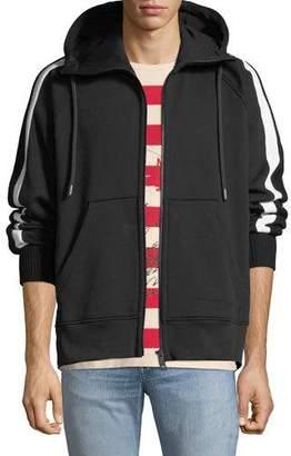Burberry Men's Arade Knit Zip-Front Hoodie