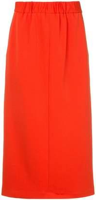 Tibi Mercer knit high waisted skirt