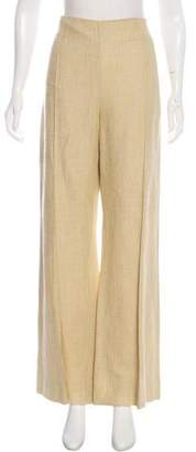 Oscar de la Renta High-Rise Wide-Leg Pants