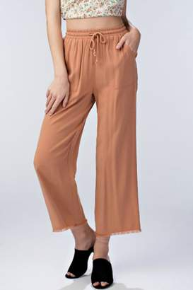 Honey Punch Drawstring Waist Pant
