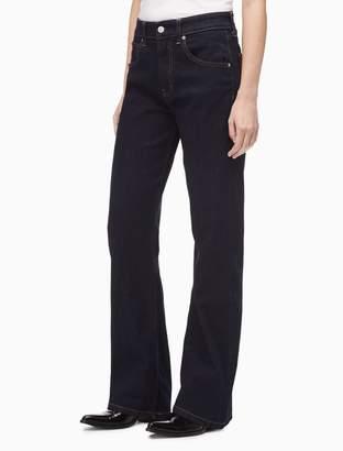 Calvin Klein boot high rise jenna rinse jeans