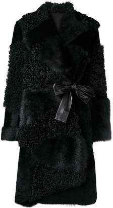 Drome reversible belted coat