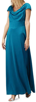 Jacques Vert Cowl Neck Maxi Dress