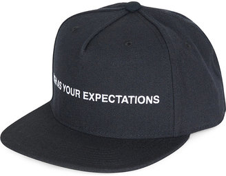 Expectations snapback cap