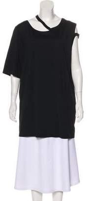Maison Margiela Short Sleeve Scoop Neck Top w/ Tags