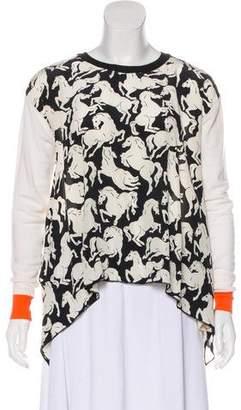 Stella McCartney Printed Crew Neck Sweater