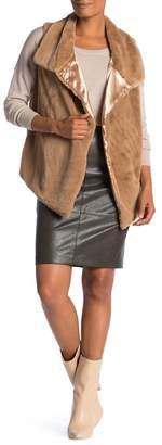 Catherine Malandrino Slim Faux Leather Skirt
