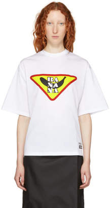 Prada White Banana T-Shirt