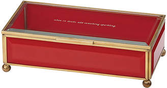 Kate Spade Out of the Box Jewelry Box - Red