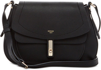 GUESS Kingsley Saddle Bag $110 thestylecure.com