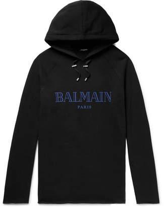 937b29e7 Balmain Black Sweats & Hoodies For Men - ShopStyle UK