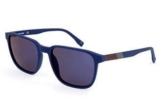 Lacoste Men's Sonnenbrille L873S Sunglasses, (Blue), 55.0