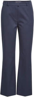 Vanessa Seward Flared Cotton Pique Pants