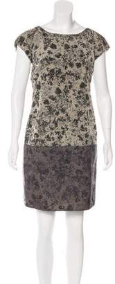 Max Mara Weekend Floral Print Shift Dress