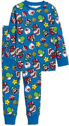 H&M Jersey Pajamas - Blue
