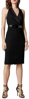 Karen Millen Halter Tuxedo Dress