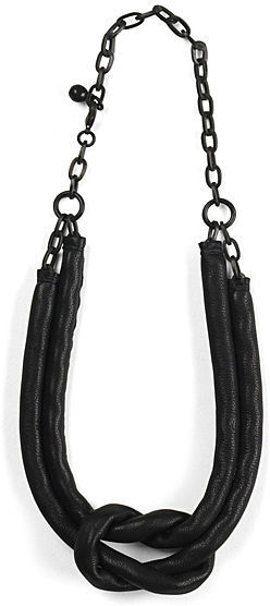 ACB Covered Chain Knot Necklace