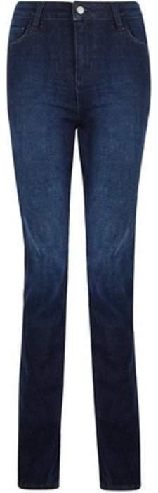 Womens Indigo 'Kick Flare' Jeans