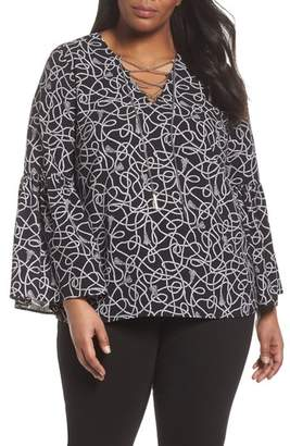 MICHAEL Michael Kors Twisted Rope Blouse