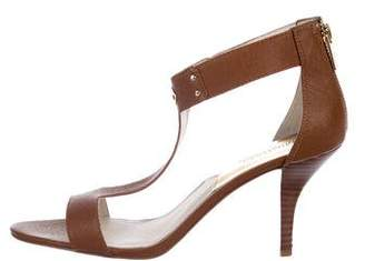 MICHAEL Michael Kors Leather T-Strap Sandals