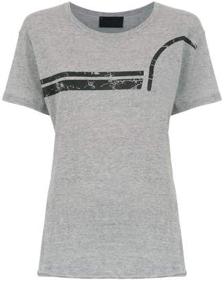 Andrea Bogosian top with striped detail