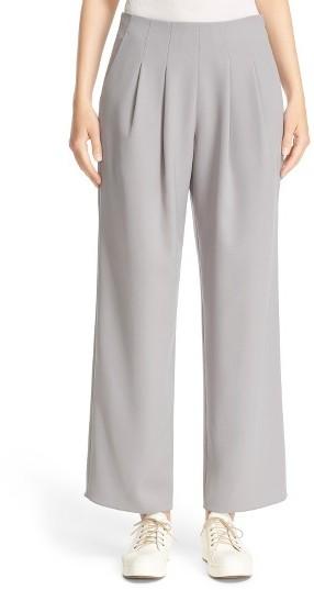 Women's Armani Collezioni Pleated Tech Cady Pants