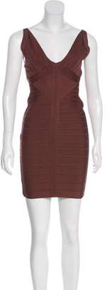 Herve Leger Trista Mini Dress