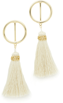 Shashi Mia Hoop Earrings $55 thestylecure.com