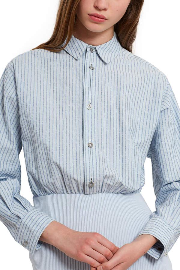 OC Jacquard Button-Down Dress