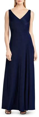 Ralph Lauren Bias Jersey Gown