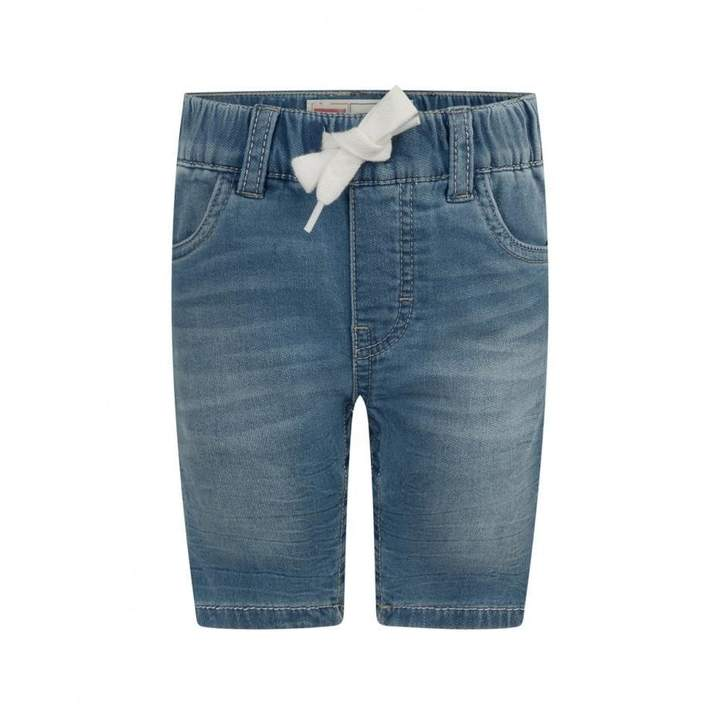 Levis KidswearBoys Blue Denim Slim Fit Jogger Shorts