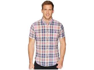 Polo Ralph Lauren Madras Short Sleeve Sport Shirt