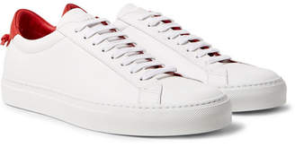 Givenchy Urban Street Leather Sneakers - White