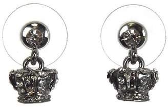 786249b1d Lauren Spencer Crown Earrings Crystal