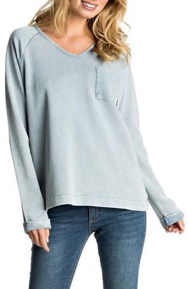 Women's Roxy Palpo Point Sweatshirt $54.50 thestylecure.com