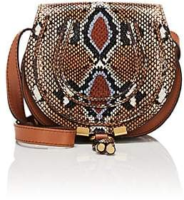 Chloé Women's Marcie Small Leather Crossbody Bag - Brown
