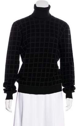 Giorgio Armani Virgin Wool Turtleneck Sweater