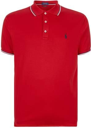 Polo Ralph Lauren Stripe Trim Polo Shirt