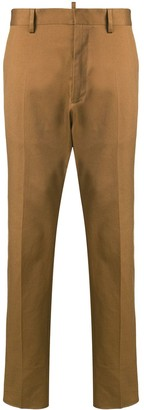 DSQUARED2 mid rise chino trousers
